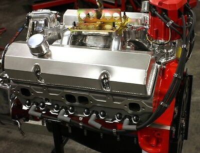 SBC CHEVY 434 STAGE 5 5 DART BLOCK, AFR HEADS, CRATE MOTOR 632 hp BASE  ENGINE