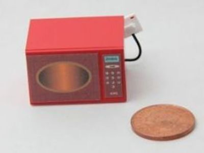 Dolls House Miniature 1/12th Scale Handmade Microwave Oven - non working