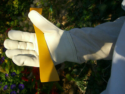 2 pairs of Bee keepers gloves - White XL 4