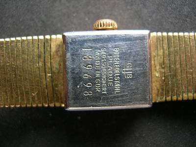 5x old antiques wrist watches GUB Glashutte 7