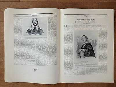 Volume 6 Number 4 Antiques Monthly Publication October 1924 19th Century Dolls 3