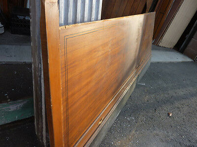 """circa 1930's Maple paneling section 80"""" x 86"""" high from old cutlery shop 11"""