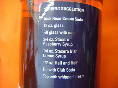 IRISH CREAM 750ml COFFEE-FLAVOURING and COCKTAIL-FLAVOURING SYRUP BOTTLE NEW