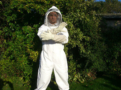 2 pairs of Bee keepers gloves - White XL 9