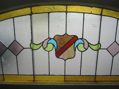 ~ Big Antique American Stained Glass Window  ~  Architectural Salvage ~ 2