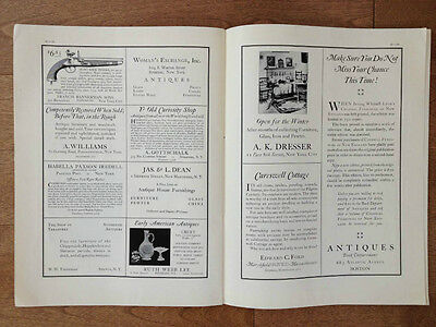Volume 6 Number 4 Antiques Monthly Publication October 1924 19th Century Dolls 4
