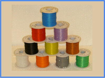 30 ft  Kynar wire wrap wire 30 awg 4 modding 10 color ship from USA 2