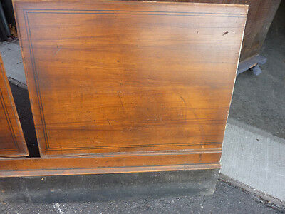 """circa 1930's Maple paneling section 80"""" x 86"""" high from old cutlery shop 8"""