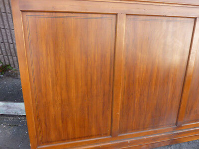 """circa 1930's Maple paneling section 80"""" x 86"""" high from old cutlery shop 2"""