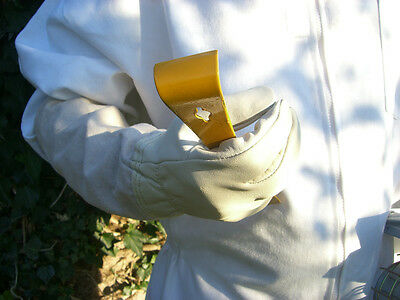 2 pairs of Bee keepers gloves - White XL 6