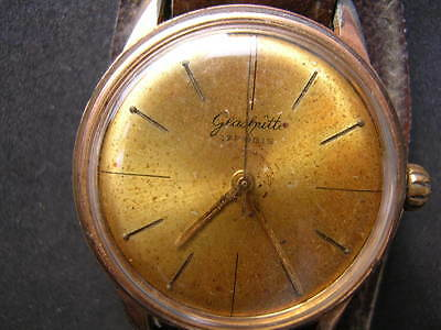 5x old antiques wrist watches GUB Glashutte 2