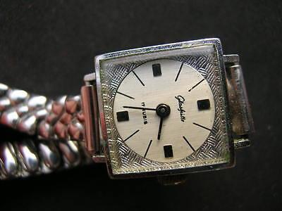 5x old antiques wrist watches GUB Glashutte 8