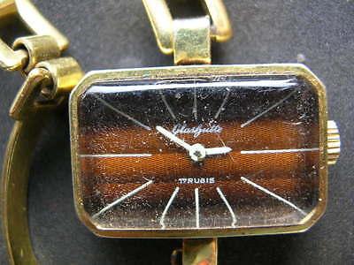 5x old antiques wrist watches GUB Glashutte 10