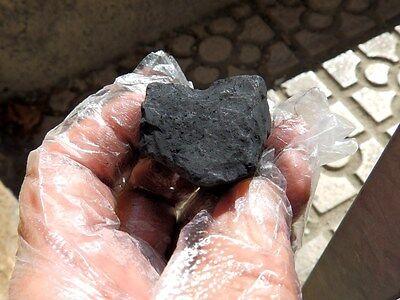 "Minerales "" Extraordinario Mineral  De Shungita  De Rusia  -  3G15 "" 3"
