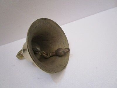 Brass BELL - Brass Made - 4 Kilo - Great Sounding -Boat / Nautical / Maritime 6