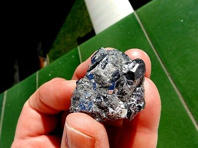 """Minerales """" Preciosos Cristales Cubicos De Skutterudita De Marruecos  -  10C16 """" 5"""