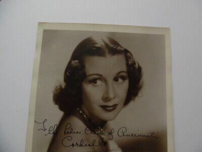 1939 GLADYS SWARTHOUT Signed Inscribed Photo Opera Soprano Movie Actress Vintage 3