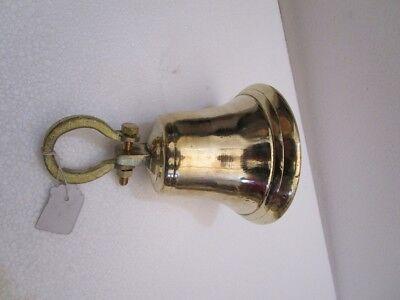 Brass BELL - Brass Made - 2 Kilo - Great Sounding -Boat / Nautical / Maritime 7