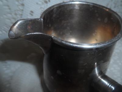 Antique Sheffield EPC SilverPlate w/Wood Handle Brandy Warmer Butter/Sauce Pan 11