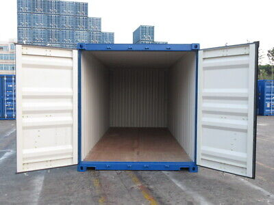 20' New Shipping Container / 20ft One Trip Shipping Container in Miami, FL 10