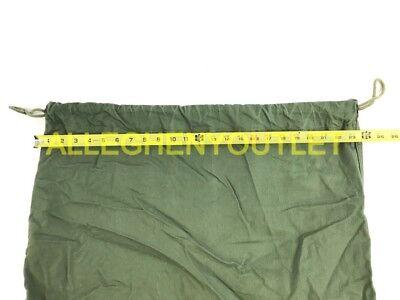 US Army Military Barracks Bag, Cotton Large Laundry Duffle Tote Storage Bag FAIR 2