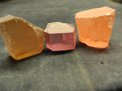 Cubic Zirconia Cz Rough Colour Change - Mixed Colour Parcel 123 Grams