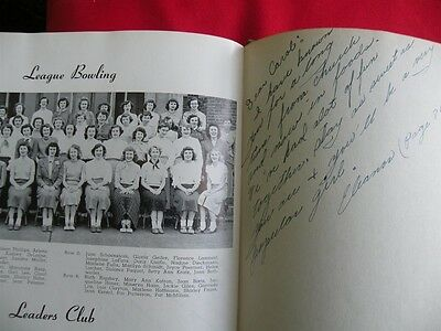1950 Grover Cleveland High School Yearbook The Beacon St