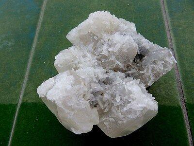 """Minerales """" Fantasticos Cristales De Calcita+Barita De Mina Moscona  -  8B17 """" 5"""