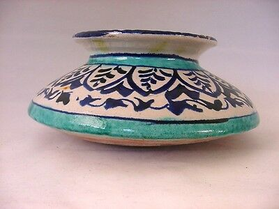 Antique Iznik Ottoman Turkish Pottery Pot Jar 4