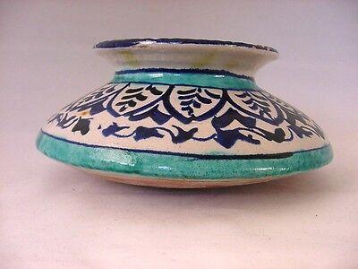 Antique Iznik Ottoman Turkish Pottery Pot Jar 4