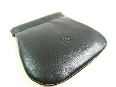 cd4d856358c0 LADIES MENS SNAP Top Coin Pouch Premium High Quality Real Leather Wallet  Purse