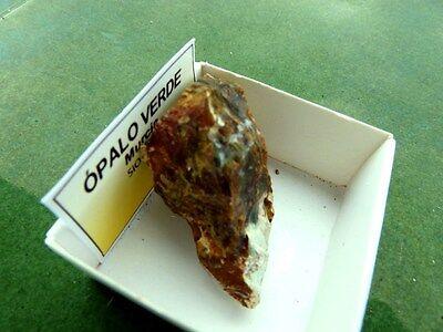 "Minerales "" Fantastico Mineral De Opalo Verde De La Union (Murcia)   -  7C17 "" 2"