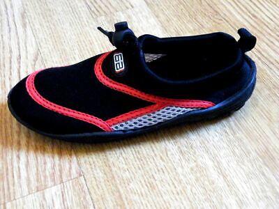 Twf Kids Childrens Boys Girls Womens Mens Aqua Wet Water Beach Surf Sea Shoes 8