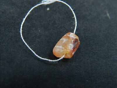 Ancient Etch Carnelian Bead Roman 200 BC  #BE5042