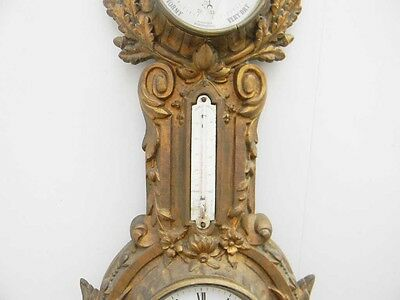 Cartel wall clock French early 19th century 3