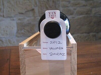 Wine Collection Organisers, Vin Tags - 5 packs of 50 wine bottle tags. 3