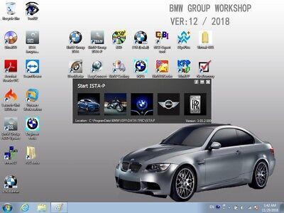 BMW ICOM A2+B+C Diagnostic & Programming 4.18.12/ 3.66.1+CF-30 TOUGHBOOK laptop 5