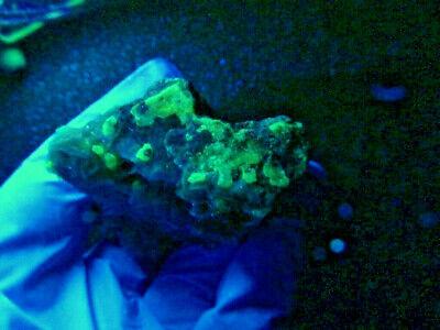 """Minerales """" Bonitos Cristales De Cerusita+Galena+Barita De Marruecos  -  1B19 """" 2"""
