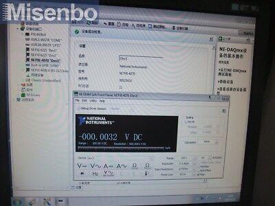 National Instruments NI PXI-4070 Digital Multimeter Card 6-1/2 Digit DMM tested 5