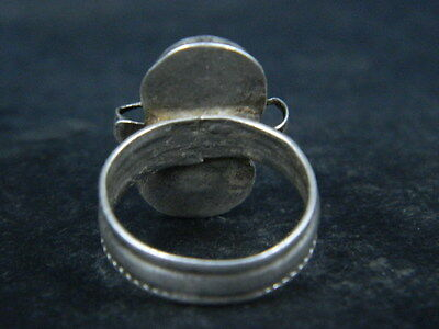 Antique Silver Ring With Stones 1900 AD  #STC176 6 • CAD $31.76
