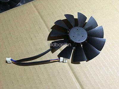 US New 95mm Single Fan 5Pin T129215SU R166b for ASUS GTX780 R9 280X 290 290X