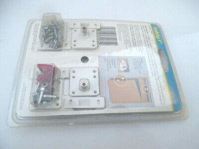 Safety 1st Magnetic Tot-Lok Four Lock Assembly - 4pc. (I have 2 sets - 8pc) 5