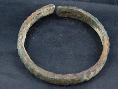 Ancient Bronze Bracelet Roman 200 BC #BR7465 5