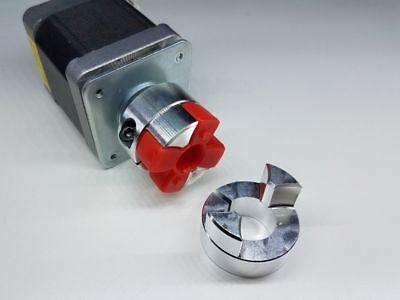 12 mm x 14 mm Flexible Jaw Spider Shaft Coupling CNC Stepper Motor Coupler Rare