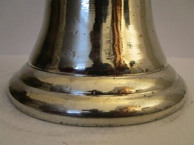 GERMAN SILVER made BELL - 5 Kilo - Great Sounding - ship / Boat / Church 4