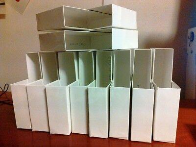 Pléiade : Lot 5 Boîtier blanc brillant pour album ou autre +5 rhodoïd offert 8