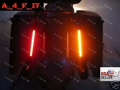 Bagger dual 12 led light strips rear fender stop turn signals 2 of 8 bagger dual 12 led light strips rear fender stop turn signals harley davidson aloadofball Image collections