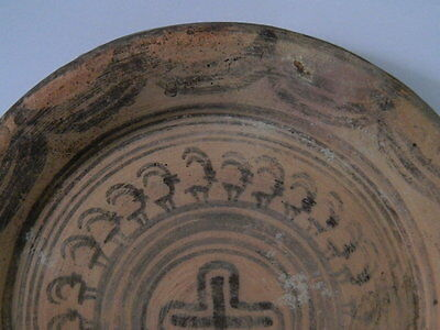 Ancient Teracotta Painted Plate With Animals Indus Valley 2500 BC  #P 3 • CAD $376.26