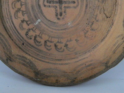 Ancient Teracotta Painted Plate With Animals Indus Valley 2500 BC  #P 4