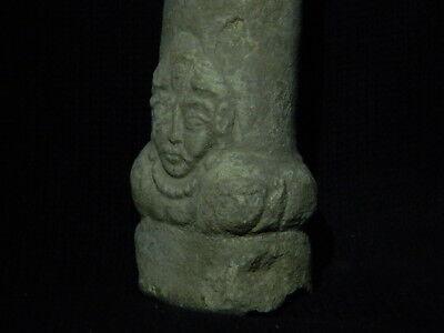 Ancient White Stone Linga/Lingum Hindu Shahi 700 AD #CCH15 5